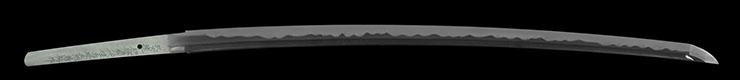 katana [bushidou higo_koku_ju akamatsu tarou kanehiro HEISEI30] (shinsakutou  new sword) Picture of blade