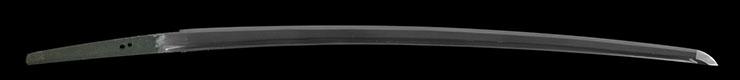 katana [yasushige Showa 18] (abe yasushige) (yasukuni_tou) Picture of blade