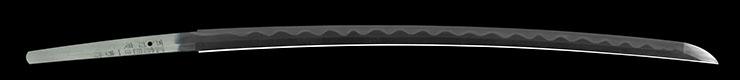 katana [hizen_no_kuni_ju kazuyoshi utsusu sukehiro HEISEI 21] (nakao kazuyoshi) (new making sword) Picture of blade