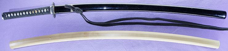 katana [houten_ni_oite nanki yasumasa SHOWA 15] Picture of SAYA