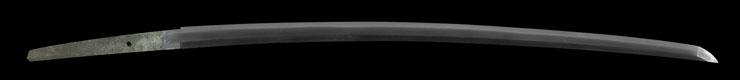katana [yasunobu SHOWA 15] (murakami yasunobu) (yasukuni_tou) Picture of blade