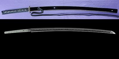 katana [bushidou higo_koku yatsushiro_ju akamatsu tarou  kanemitsu  HEISEI 31] (shinsakutou new sword)thumb