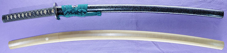 katana [ietsugu] (kashu) (kaga aoe) Picture of SAYA