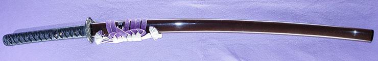 katana [chikugo_ju_nin kuniharu saku HEISEI 8] (komiya kuniharu) (Grandchild of komiya kunimitsu) Picture of SAYA
