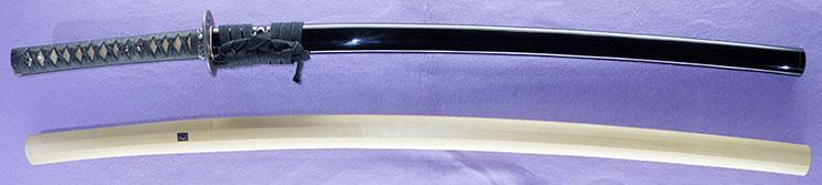 katana [oshu aizu_ju masanaga] (miyoshi masanaga) (sintou jou-saku) (yoki wazamono) Picture of SAYA