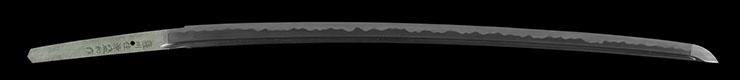 katana [sasshu_ju minamoto morikazu SHOWA 61] Picture of blade