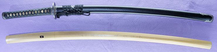 katana Mumei No signature [ashu sukeyoshi] (sinsintou) (used by kondou isami) Picture of SAYA