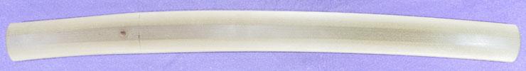 wakizashi [sagamikoku hirokuni kitae HEISEI 6] (hiroki hirokuni) (mukansa) Picture of SAYA