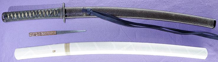 wakizashi [ikeda isshu nyudo ryuken TENPO 8] Picture of SAYA