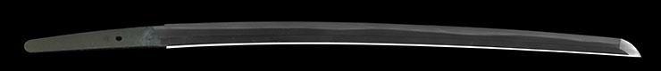 wakizashi [omi_no_Kami fujiwara tsuguhira HOREKI 11] (3 generation) Picture of blade