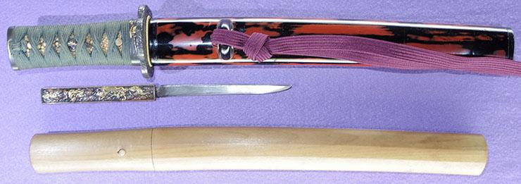 tantou [norimune] (mito : ANSEI) (Master of Katsumura Tokkatsu) Picture of SAYA