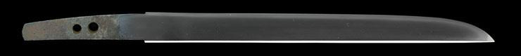 tantou [taira hideyo TENPO 10] (hyoshinshi hideyo) Picture of blade