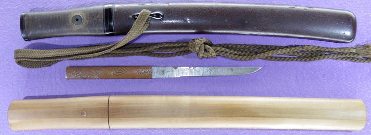 tantou [taira hideyo TENPO 10] (hyoshinshi hideyo) Picture of SAYA