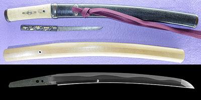 tantou [suzuki yamato_no_kami sukemasa KYOHO 6] (Disciple of oumi_no_kami sukenao)thumb