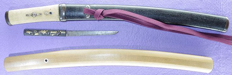 tantou [suzuki yamato_no_kami sukemasa KYOHO 6] (Disciple of oumi_no_kami sukenao) Picture of SAYA