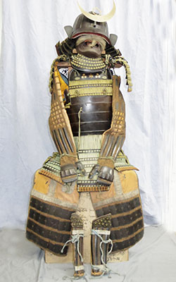 Japanese Antique Suit of Armor (A legacy of the Mizuno family thet the lord of the Yamagata han) Picture