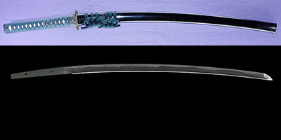 katana [banshu hineji_ni_oite tegara] (Cut below) (tegarayama ujishige) (2 generation)   (sinsintou jou-saku)(Father of tegarayama masashige)thumb