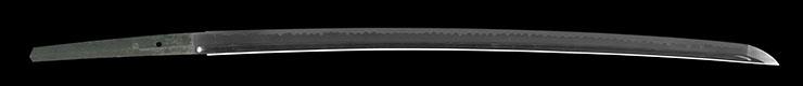 katana [kozuke_no_kami fujiwara kunitsune] (sintou) (wazamono)       [noshu seki junin] Picture of blade
