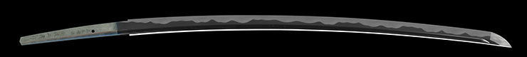 katana [shomaru toge_ju ozawa masatoshi saku SHOWA 63] Picture of blade