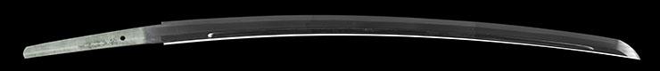 katana [utsusu omura kaboku takano masakane kitae] Picture of blade