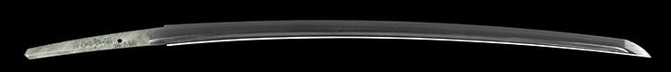 katana [sasshu_ju minamoto moriatsu saku SHOWA 50] Picture of blade