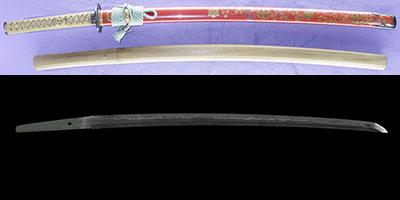 katana [sesshu_ju fujiwara sukehiro] (1 generation soboro sukehiro) (sintou joujou-saku) (saijo oh wazamono) (kutsuwa mon makie-koshirae)thumb