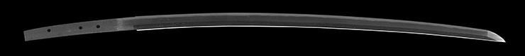 katana No signature den [jhoshu sueyuki] (ayakouji) (Disciple of ayakouji sadatoshi) Picture of blade