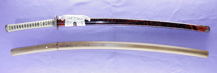 katana No signature den [jhoshu sueyuki] (ayakouji) (Disciple of ayakouji sadatoshi) Picture of SAYA