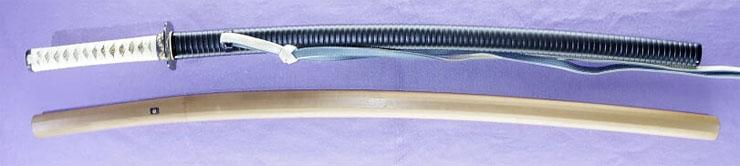 katana [echizen_no_kami sukehiro] (2 generation) (tsuda echizen_no_kami sukehiro) (sintou sai jou-saku) (oh wazamono) Picture of SAYA