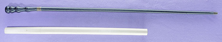 wakizashi Mumei No signature (Sword cane) (zatoichi stick) Picture of SAYA
