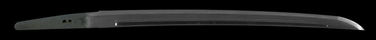 wakizashi [yamato_no_kami yasusada MEIREKI 1] (sintou jou-saku) (yoki wazamono) Picture of blade