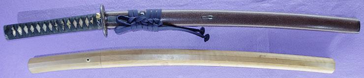 wakizashi [yasutsugu nanban motte] (edo 3 generation) (sintou jou-saku) [bushue_ni_oite] Picture of SAYA