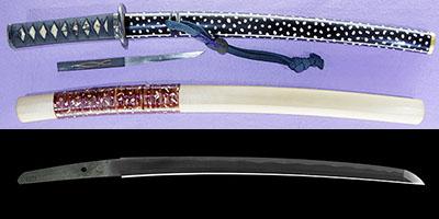 wakizashi [masahide BUNSEI 4] (carved seal) (suishinshi masahide 1 generation) (sinsintou saijou-saku)thumb