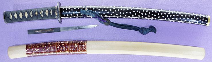wakizashi [masahide BUNSEI 4] (carved seal) (suishinshi masahide 1 generation) (sinsintou saijou-saku) Picture of SAYA