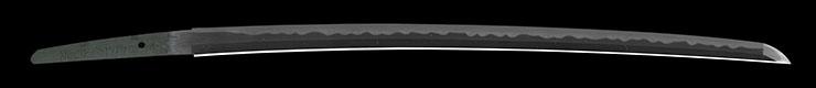 wakizashi [awataguchi oumi_no_kam tadatuna] (oumi_no_kam tadatuna 1 generation) (sintou jou-saku) Picture of blade