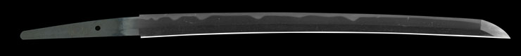 wakizashi [yasutomo] (sendai) Picture of blade