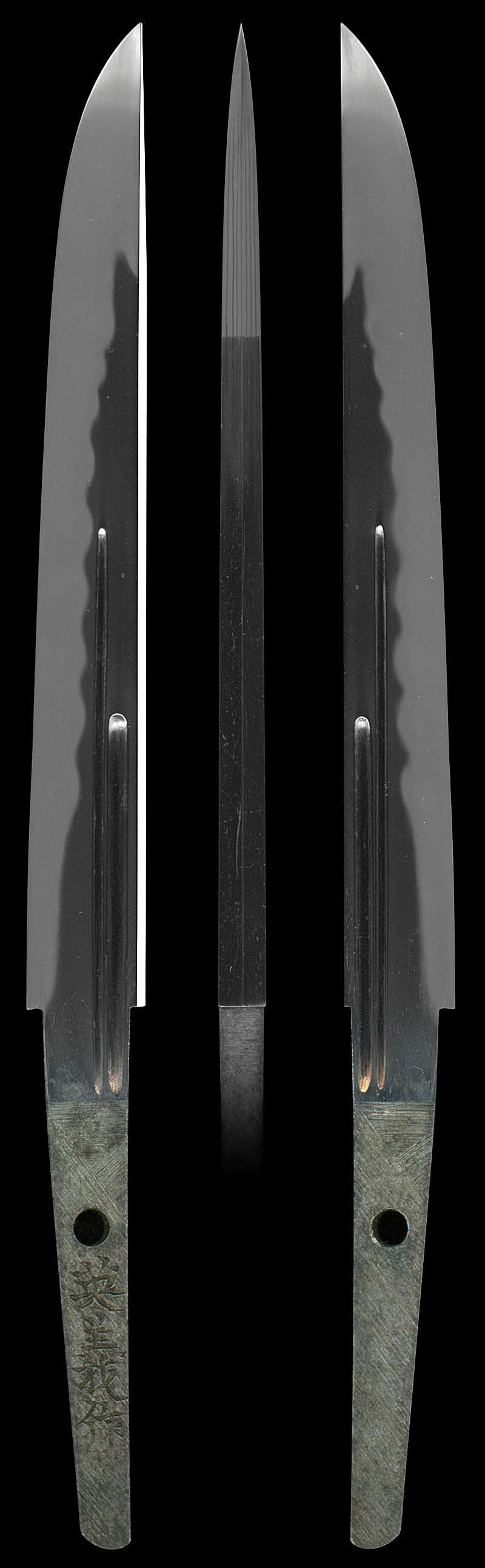 短刀 英義作(藤枝太郎英義)(懐剣)Picture of whole