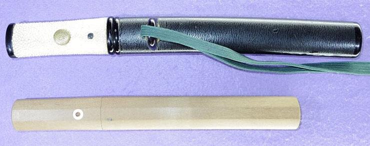 tantou [teruyoshi saku] (fujieda tarou teruyoshi) (bosom sword)(sinsintou jou-saku) Picture of SAYA