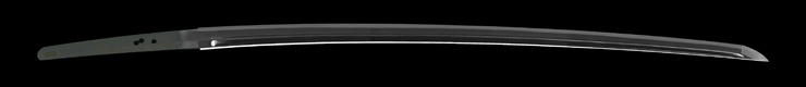 katana [kawabe gihachirou fujiwara masahide BUNKA 12] (suishinshi Masahide 1 generation) (sinsintou saijou-saku) Picture of blade