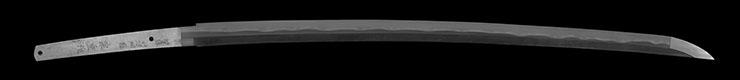 katana [sasanotsuyu chikushu_ju muneshige saku HEISEI 14] Picture of blade