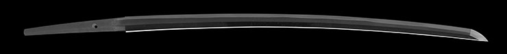 katana [kashu_ju kanewaka] (2 generation matasuke) (sintou jou-saku) (wazamono) Picture of blade