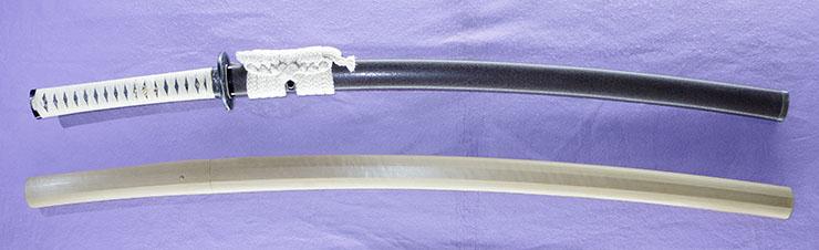 katana [kashu_ju kanewaka] (2 generation matasuke) (sintou jou-saku) (wazamono) Picture of SAYA