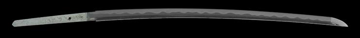 katana [buzen_ju kouno kunimitsu saku HEISEI 16] (sa kunimitsu Father of kouno sadamitsu) Picture of blade