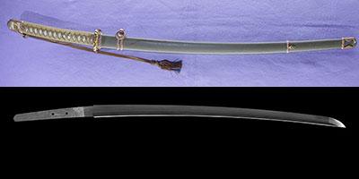katana [emura saku] (koumura) (Showa) (ichihara nagamitsu) (combat sword)thumb