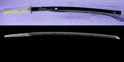 katana [bushidou higo_koku yatsushiro_ju akamatsu tarou kanehiro use homemade iron REIWA 3] (kimura kaoru) (shinsakutou new sword)thumb