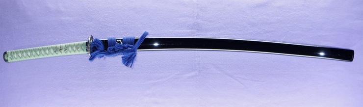katana [higo kikuchi_ju koretada HEISEI 18]    (otsuka koretada) (Descendants of Higo Dotanuki) Picture of SAYA