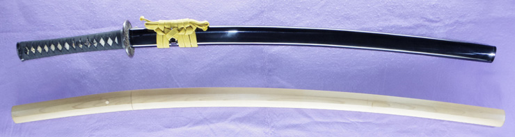 katana [suifu shirahata_yama ju sukemitsu MAN_EN 1] [yokoyama sukemitsu] Picture of SAYA