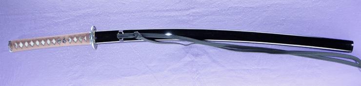 katana [bushidou higo_koku yatsushiro_ju akamatsu tarou kanehiro use homemade iron REIWA 3 april ] (kimura kaoru) (shinsakutou new sword) Picture of SAYA
