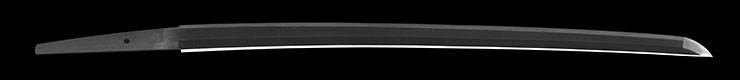 wakizashi  [yamato_no_kami yasusada] (sintou jou-saku) (yoki wazamono) Picture of blade