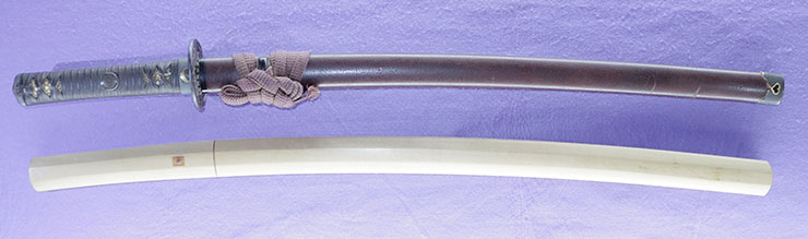 wakizashi  [yamato_no_kami yasusada] (sintou jou-saku) (yoki wazamono) Picture of SAYA